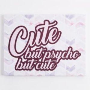 Cute but Psycho Box Wall Art